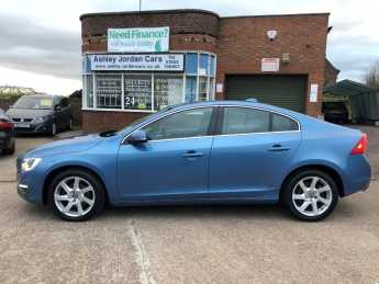 Volvo S60 1.6 D2 [115] SE Lux 4dr  FULL LEATHER, £20 ROAD TAX Saloon Diesel Blue at Ashley Jordan Cars Shrewsbury