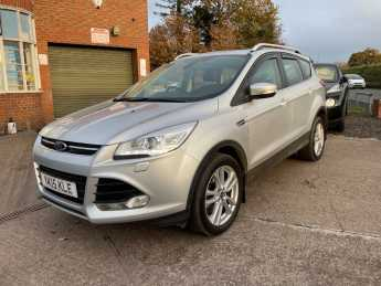 Ford Kuga 2.0 TDCi 150 TITANIUM X 5dr HIGH SPEC, PAN ROOF, HEATED LEATHER MPV Diesel Silver at Ashley Jordan Cars Shrewsbury
