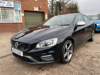 Volvo S60 2.0 R-DESIGN D3 £30 ROAD TAX, BLACK WITH SPORTY R DESIGN INTERIOR Saloon Diesel Black at Ashley Jordan Cars Shrewsbury